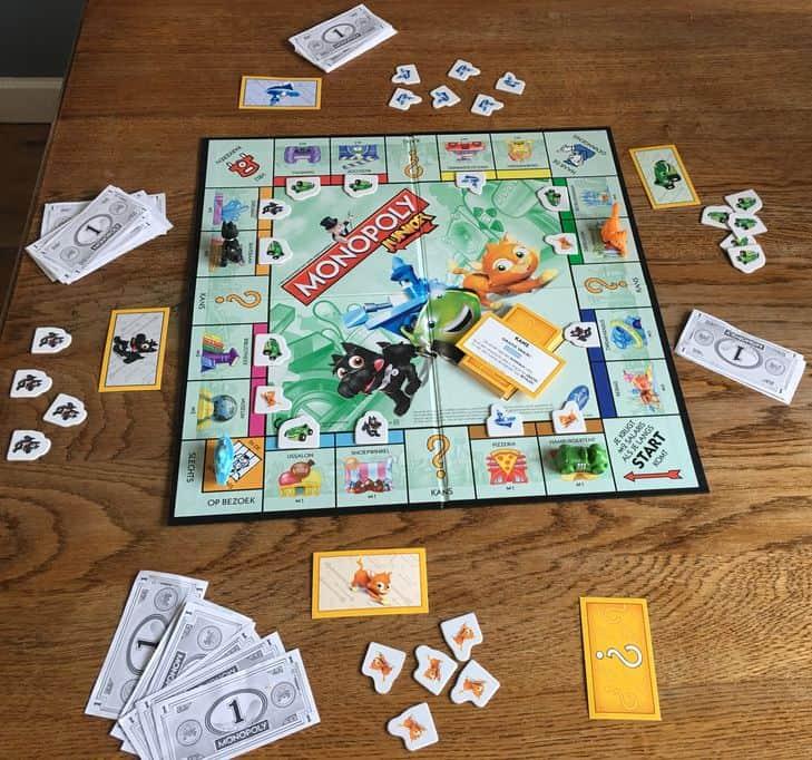 Review: Monopoly Junior- Mamaliefde.nl