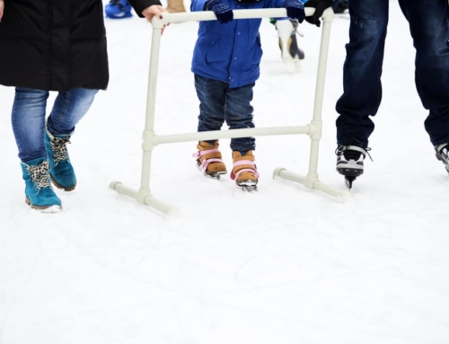 Hoe leert mijn kind schaatsen?