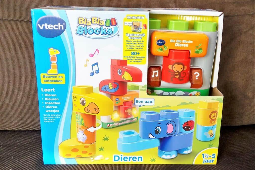Review: Bla Bla blocks van VTech; winnaar Speelgoed van het Jaar 2018 - Mamaliefde.nl