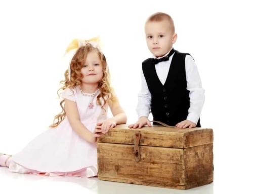 Herinneringsdoos baby / kind zelf maken; wat doe je er in?