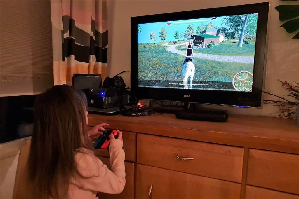 Review: My Little Riding Champion Nintendo Switch - Mamaliefde.nl