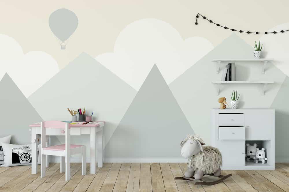 Muurschildering slaapkamer babykamer / kinderkamer; Inspiratie, voorbeelden of zelf maken - Mamaliefde.nl