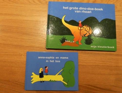 Mijn kleuterboek; om samen te oefenen met lezen