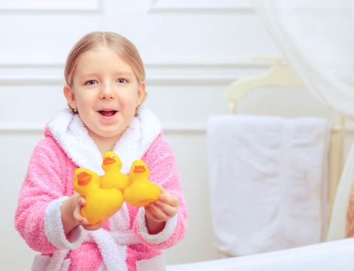 DIY; Discobad om in bad gaan nog leuker te maken met lichtjes en bellenblaas