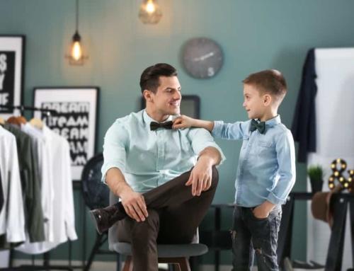 Matching en twinning vader – zoon, of vader – dochter of hele familie kleding.