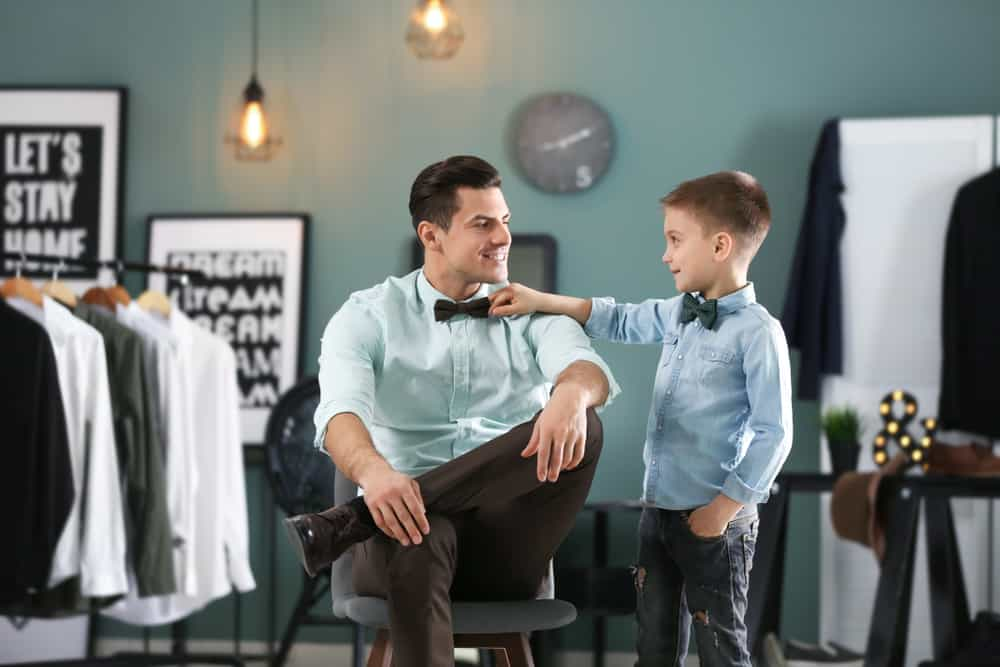 Twinning vader zoon kleding; matching outfit ook met dochter of rest familie - Mamaliefde.nl