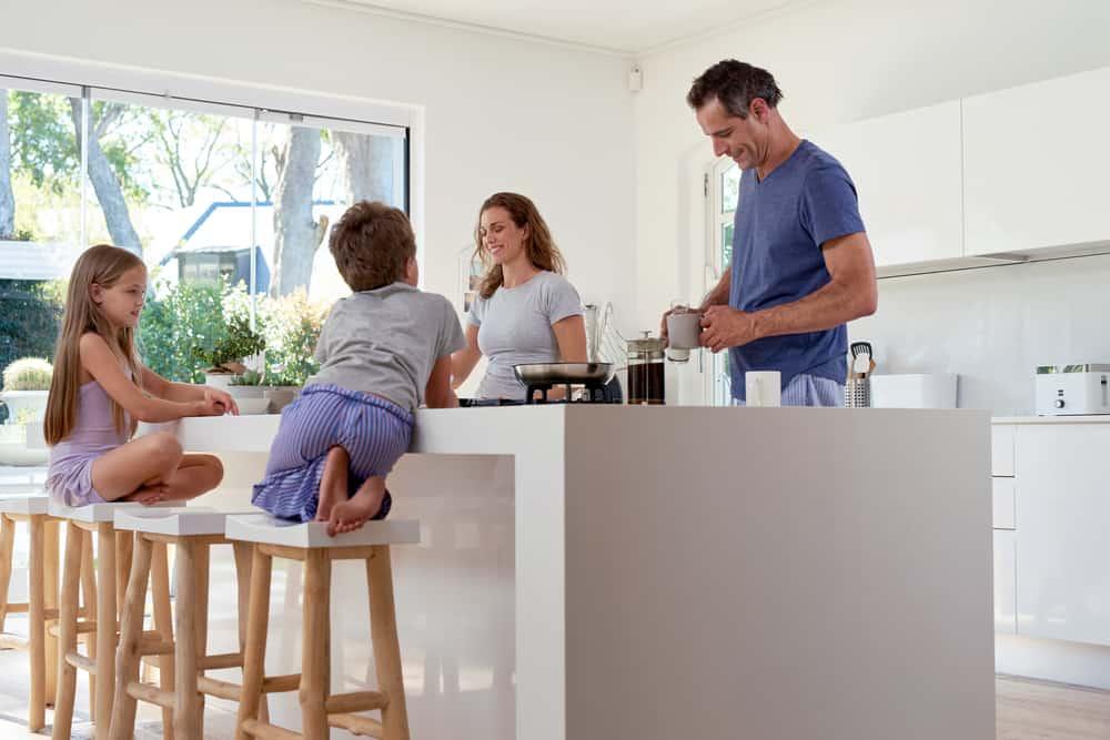 Ochtendritueel in gezin met kinderen - Mamaliefde.nl