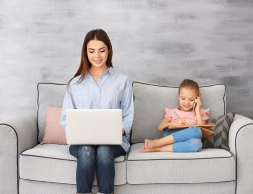 Vanuit huis werken? De voordelen van thuis werken voor moeders