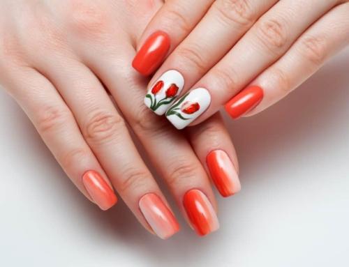 Koningsdag nagellak; 31 dessins met oranje of rood wit blauwe nail art