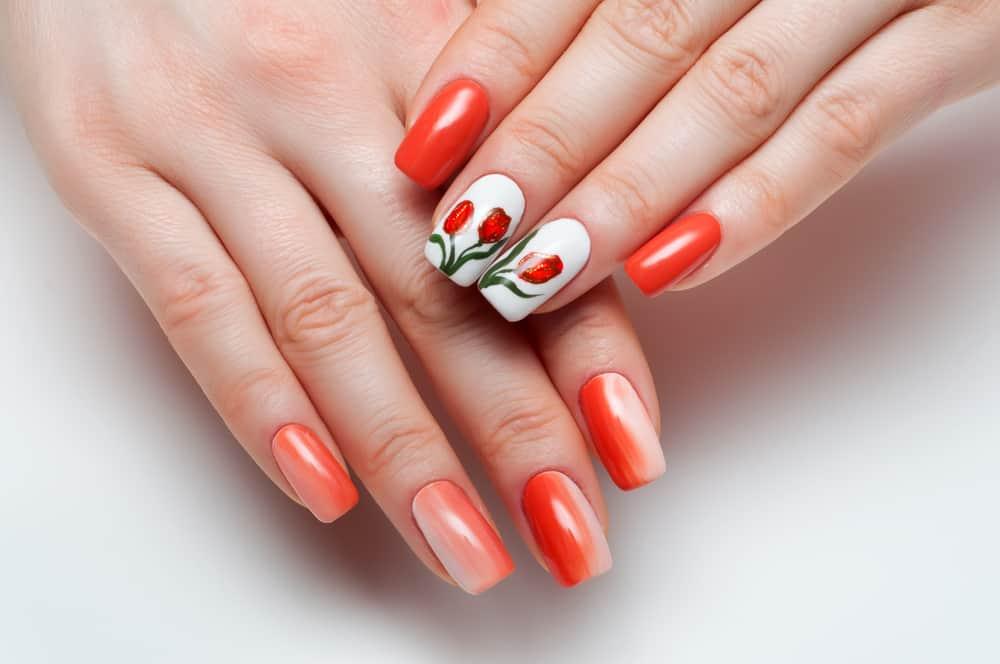 Koningsdag of EK nagellak; 31 dessins met oranje of rood wit blauwe nail art - Mamaliefde.nl
