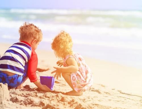 Spelen op het strand; spelletjes & activiteiten