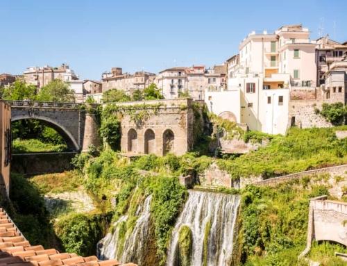Tivoli (Rome); Villa Adriana, Villa Gregoriana, Villa d'Este met schitterende tuinen en fonteinen