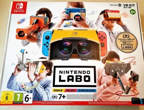 Review: Nintendo Labo VR Pakket; Zelf je vr-bril bouwen en gamen