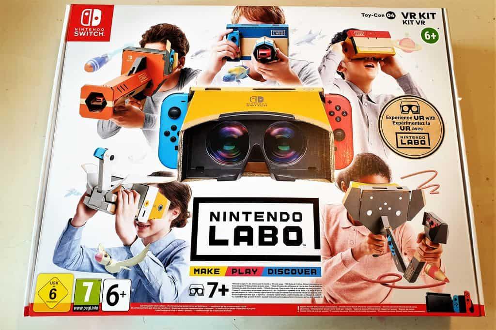Review: Nintendo Labo VR Pakket; Zelf je vr-bril bouwen en gamen - Mamaliefde.nl