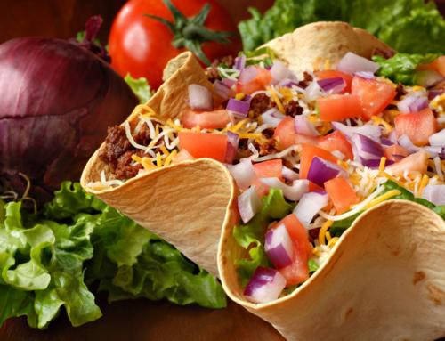 Snelle zomerse Taco Bowl