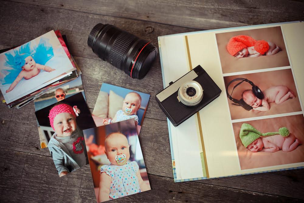 Tips baby fotoboek album maken van eerste jaar - Mamaliefde.nl
