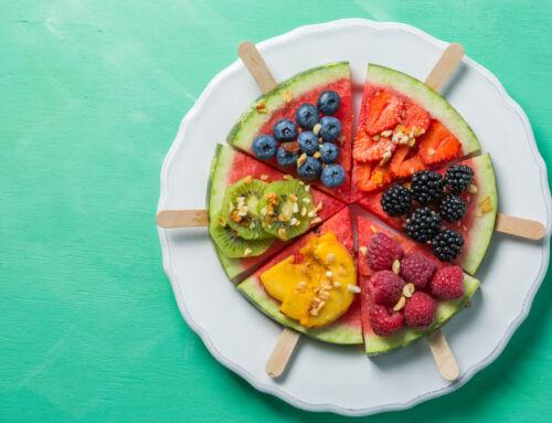 Gezonde / suikervrije traktaties; fruit