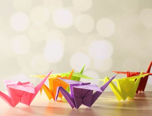 Twintig keer origami voorbeelden