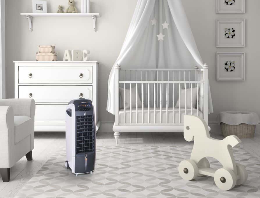 Tips om een kinderkamer koel te houden! Met review aircooler Honeywell ES800