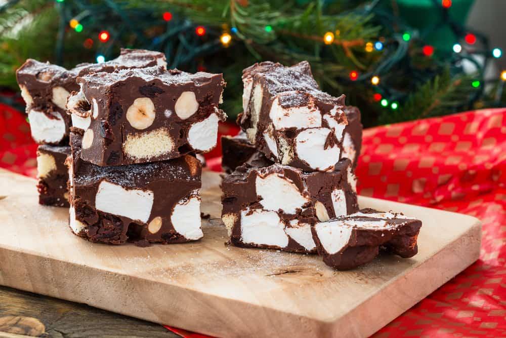 Recept: Rocky road fudge met witte chocolade maken - Mamaliefde.nl