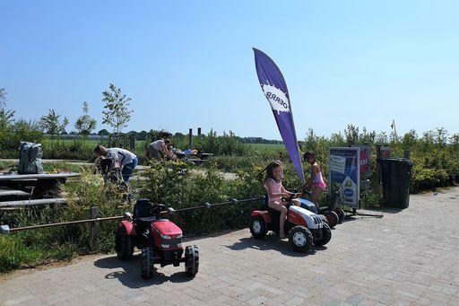 Oerrr kinderfeestje op pad met boswachter natuurmonumenten en spelen Belevenisboerderij Schieveen