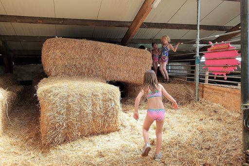 Oerrr kinderfeestje op pad met boswachter natuurmonumenten en spelen Belevenisboerderij Schieveen - Mamaliefde.nl