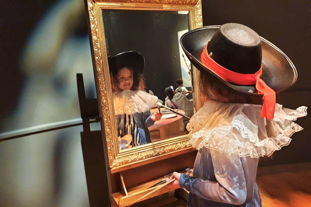 Mauritshuis Den Haag met kinderen; familie tentoonstelling Hallo Rembrandt - mamaliefde.nl