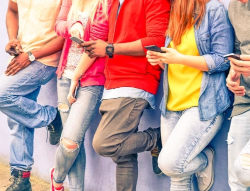 Kinderen en mobiele telefoons