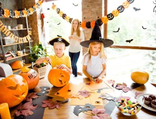 Thema Halloween; knutselen, decoratie, voorbeelden en inspiratie