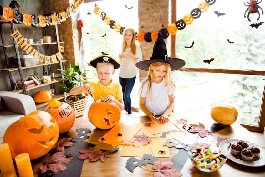 Thema Halloween; knutselen, decoratie, voorbeelden en inspiratie - Mamaliefde.nl