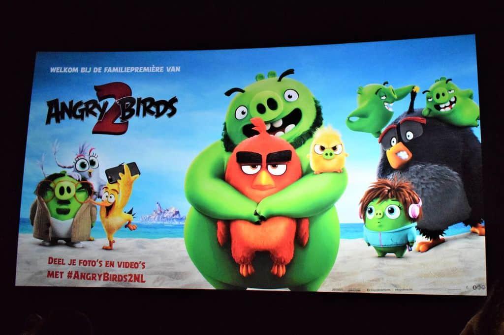 Recensie: Angry Birds 2 & verslag premiere - Mamaliefde.nl