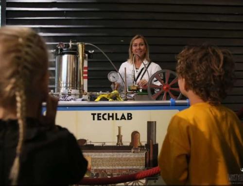 TechLab XL in Spoorwegmuseum