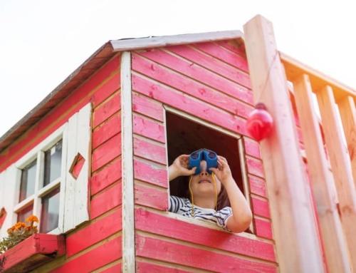 De leukste houten speelhuisjes