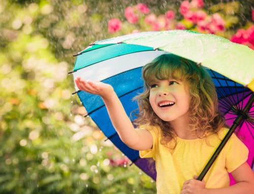De vrolijkste kinderparaplu's voor als het regent