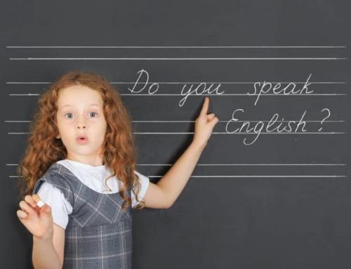 Engelse woorden leren aan kinderen