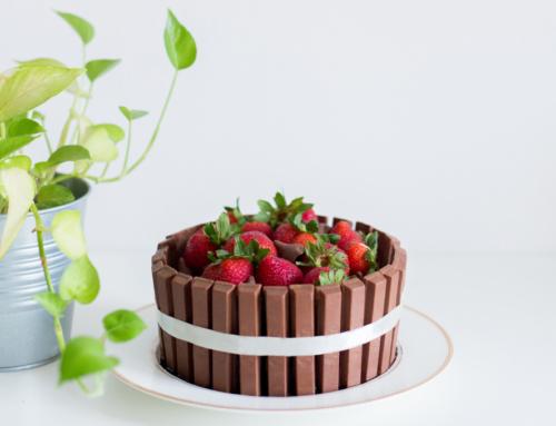 Recept: KitKat taart