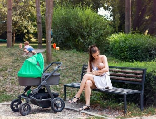 Borstvoeding geven buitenshuis