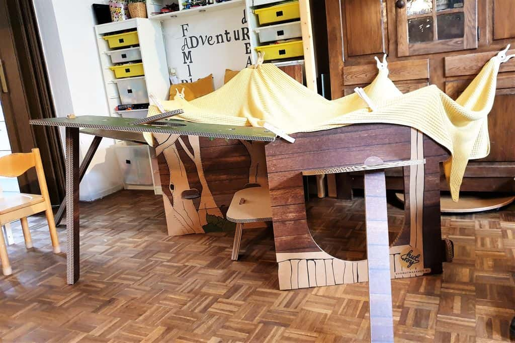 Tenten en hutten bouwen - Mamaliefde.nl
