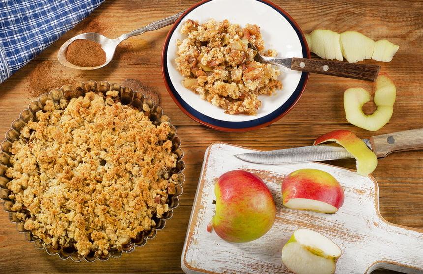 Appel recepten; van bladerdeeg bakken in de oven tot appeltaart of crumble met partjes - Mamaliefde.nl