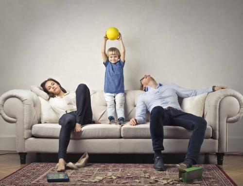 Moeheid onder moeders! Hoe komt het en wat kunnen we ertegen doen?