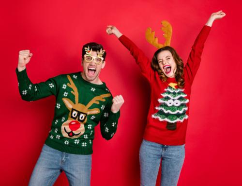 De leukste grappige en foute kersttruien voor kinderen (en dames en heren)