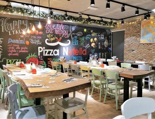 Kinderfeestje; pizza's bakken bij Happy Italy