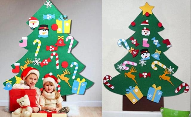Vilten kerstboom; kopen of zelf maken voor je kind - Mamaliefde.nl