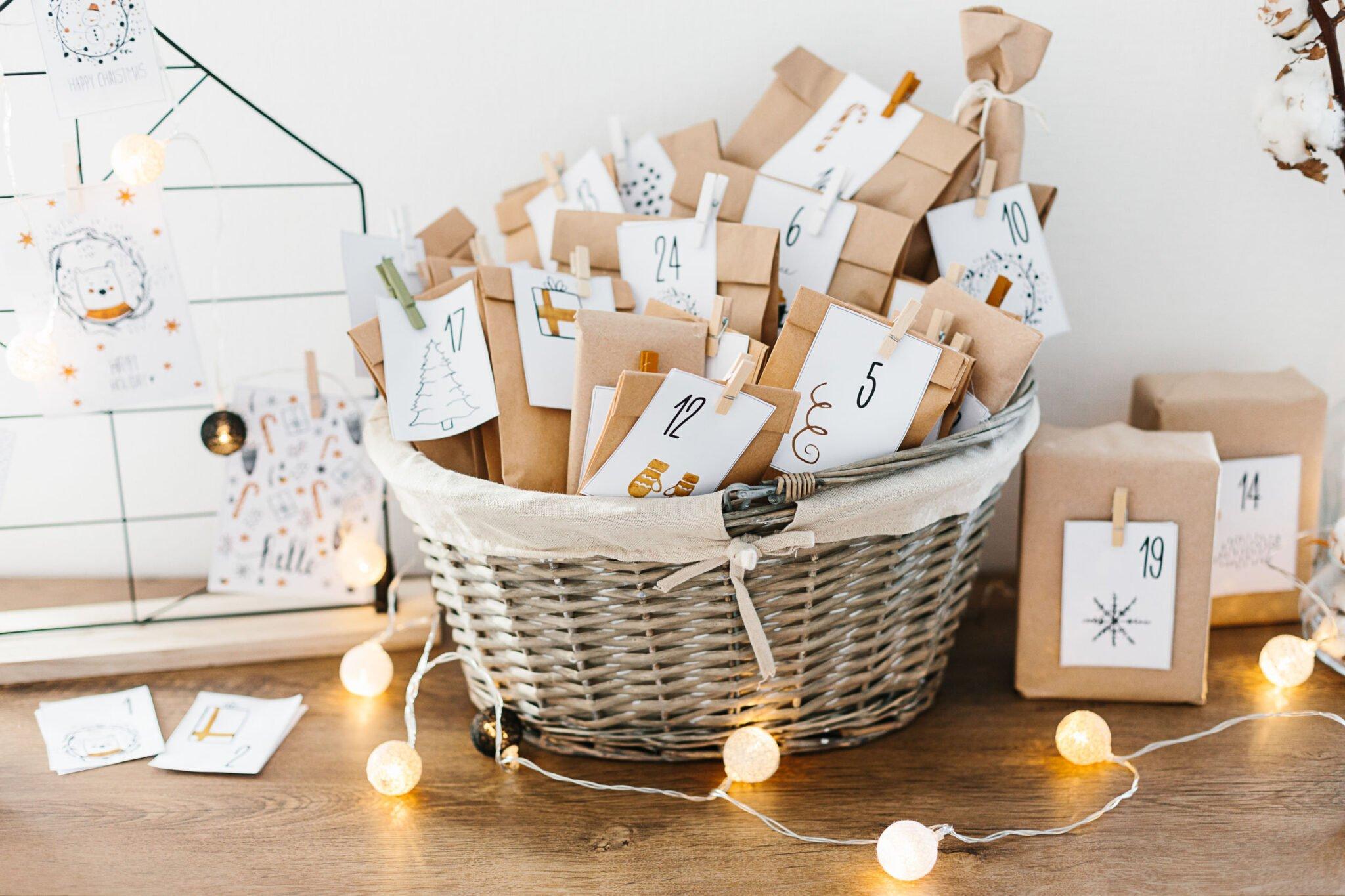 Adventskalender maken; van papier, wc rollen en andere ideeën - mamaliefde.nl