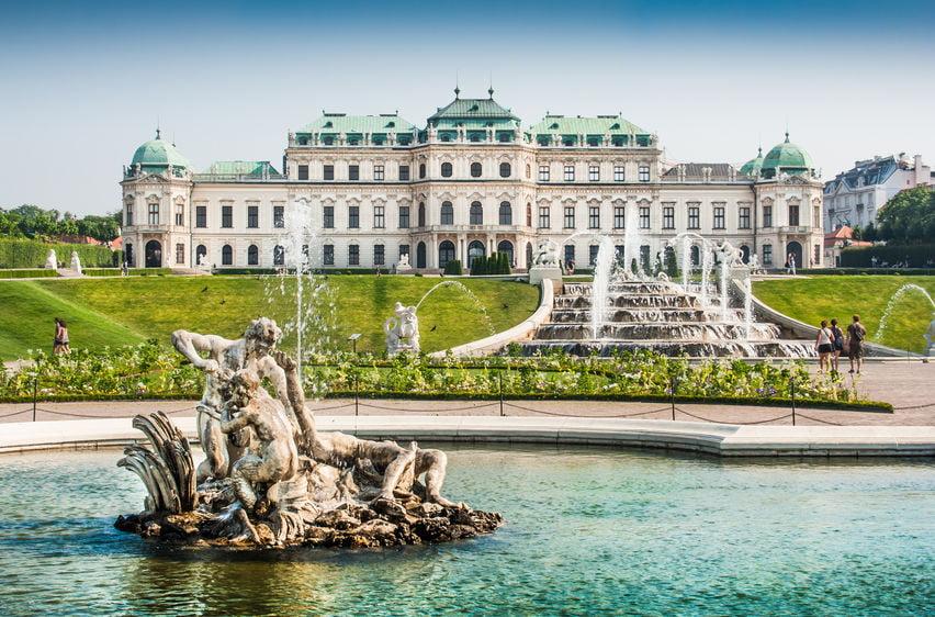 Kasteel Schloss Belvedere & Garten Wenen Oostenrijk - Mamaliefde.nl