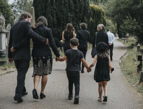 Wel of geen kinderen mee naar een begrafenis?