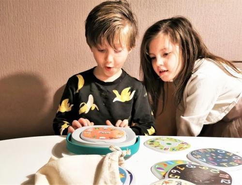 Interactief speelgoed, maar dan zonder scherm zodat je kind minder tv / tablet kijkt?