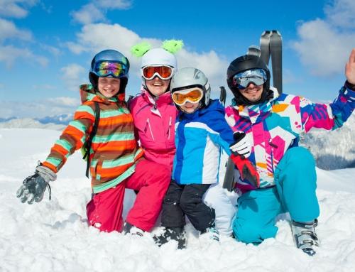 Top 10 wintersportbestemmingen / gebieden met kinderen