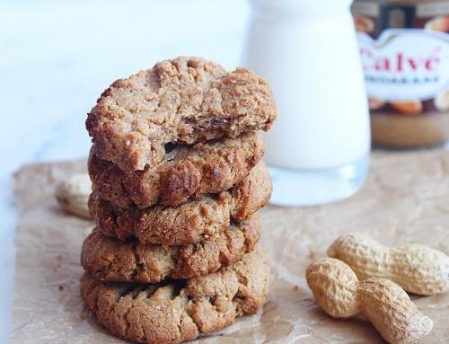 Recept: Chewy pindakaas koekjes