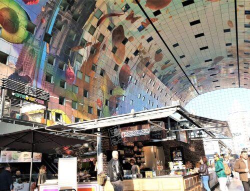 Markthal Rotterdam; lekker eten bij de foodcourt